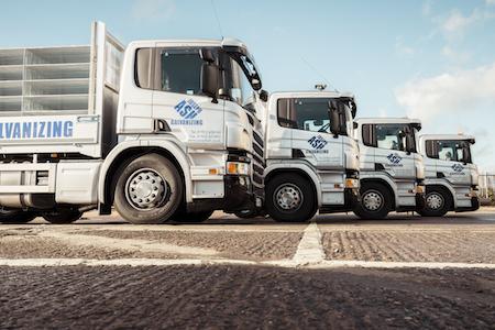 Joseph Ash delivery trucks