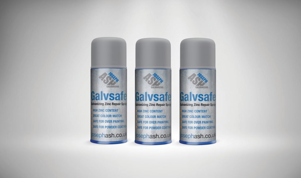three cans of galvsafe